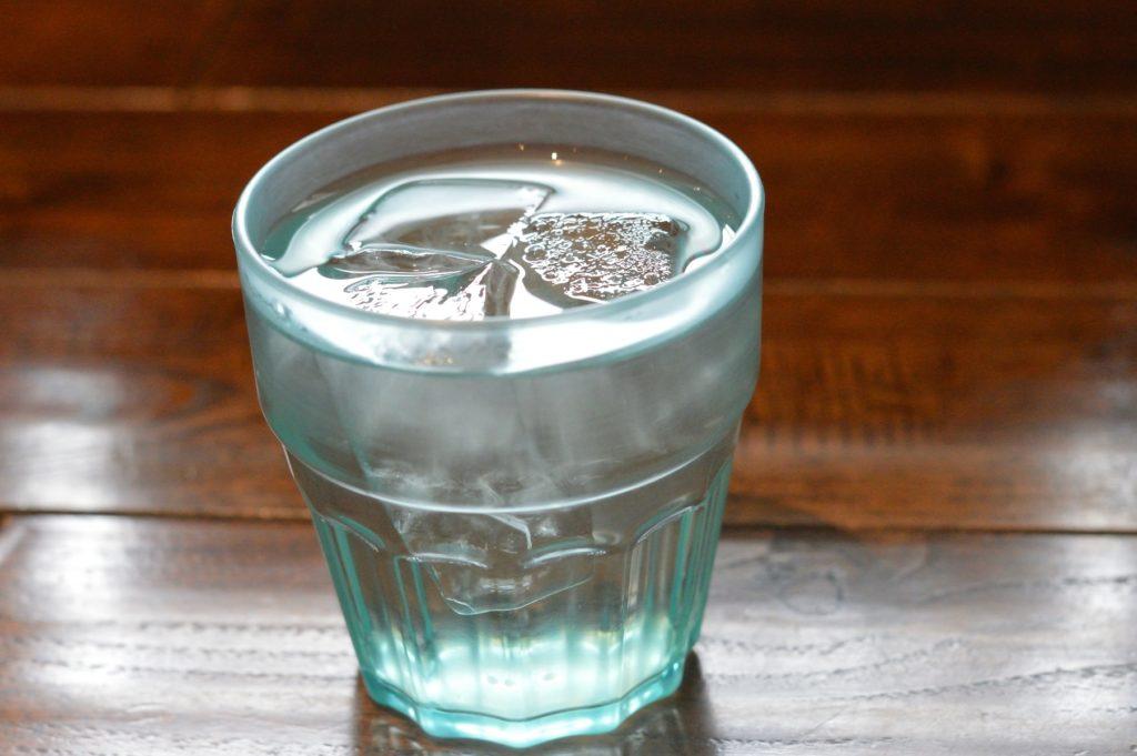 茨城県水戸市 中華食堂醤 水はセルフ