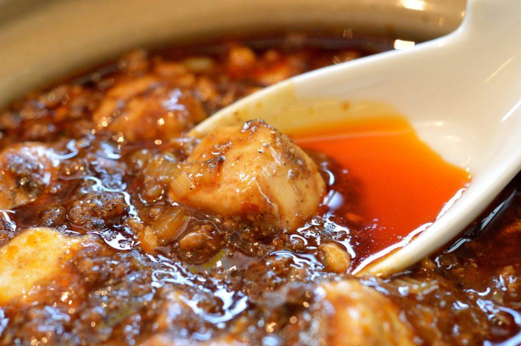 茨城県水戸市 中華食堂醤1 麻婆豆腐定食 (3)