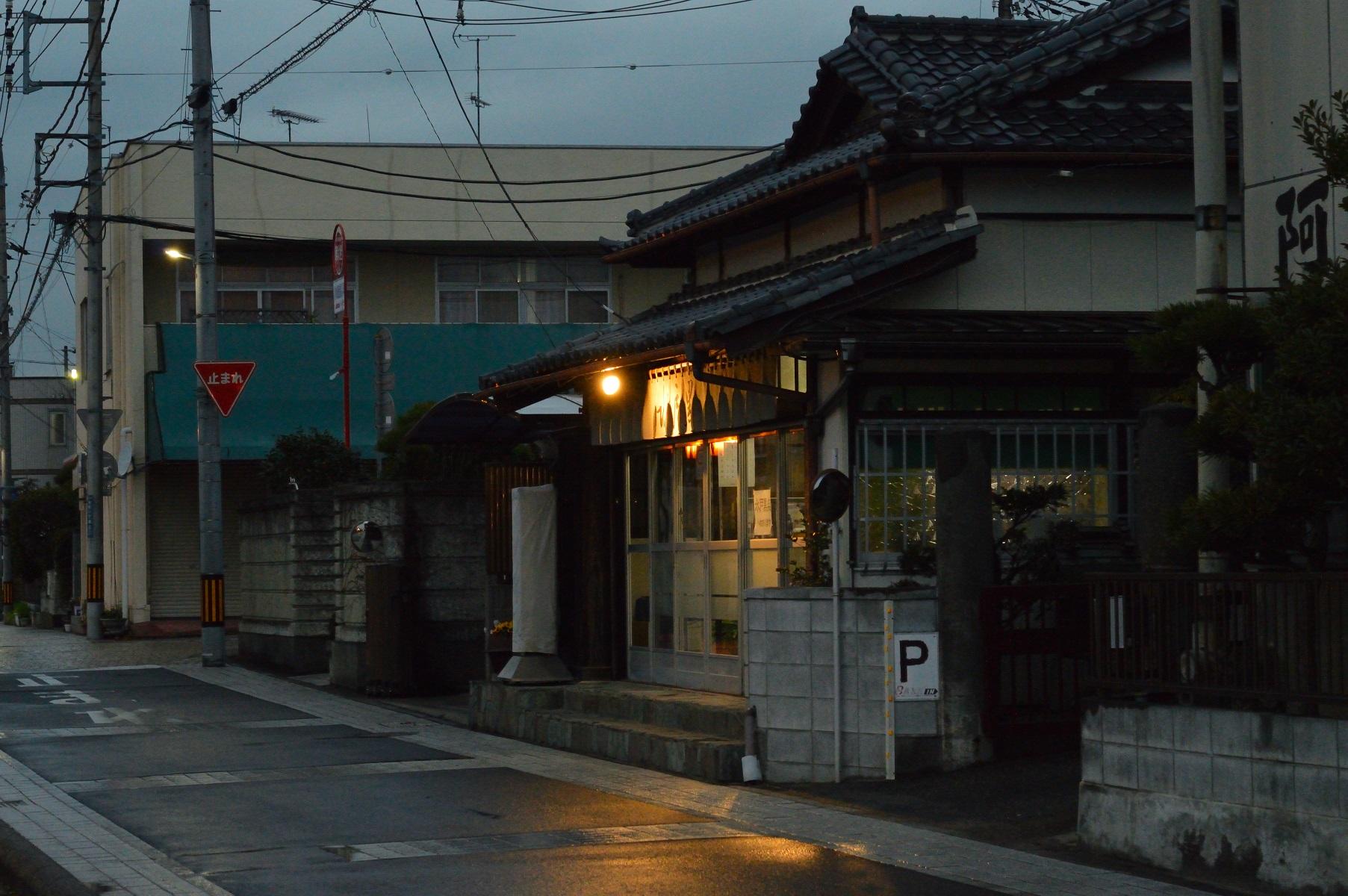 茨城県水戸市 鳥半 夜 外観 (5)