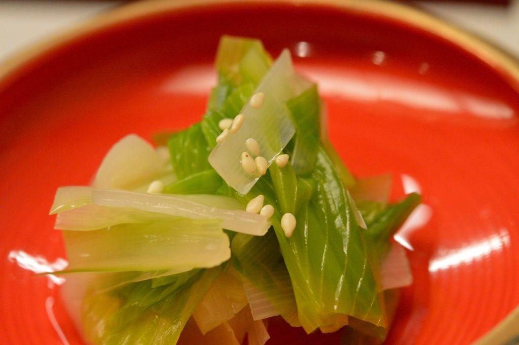 茨城県ひたちなか市 鮨処 花ひろ うるいのお浸し2