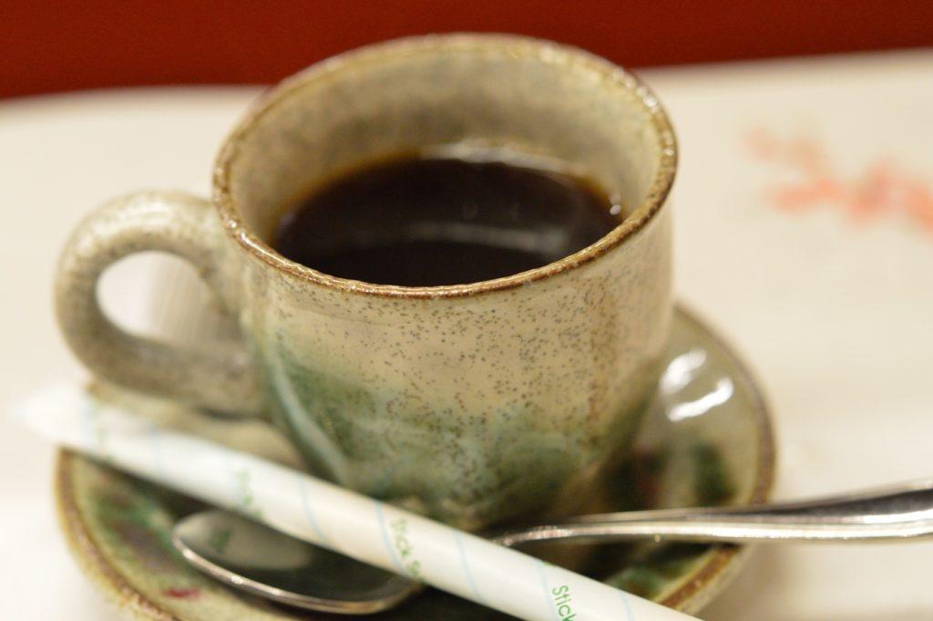 茨城県ひたちなか市 鮨処 花ひろ コーヒー