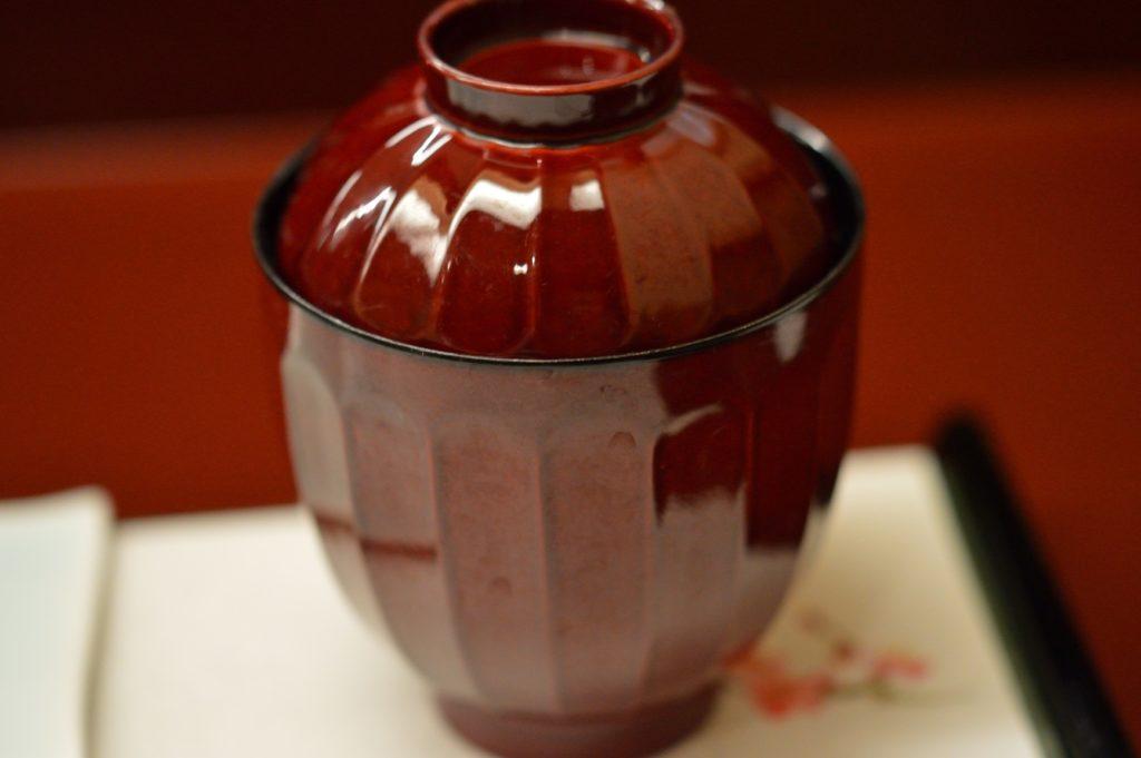 茨城県ひたちなか市 鮨処 花ひろ 味噌汁の椀