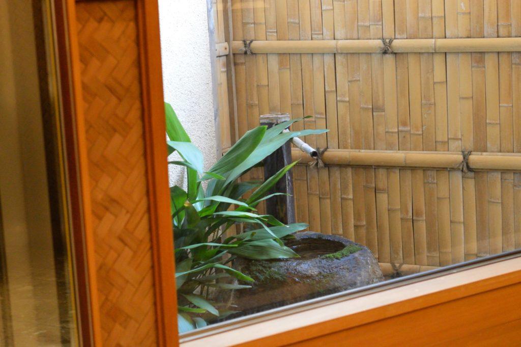 茨城県ひたちなか市 鮨処 花ひろ 小さなお庭