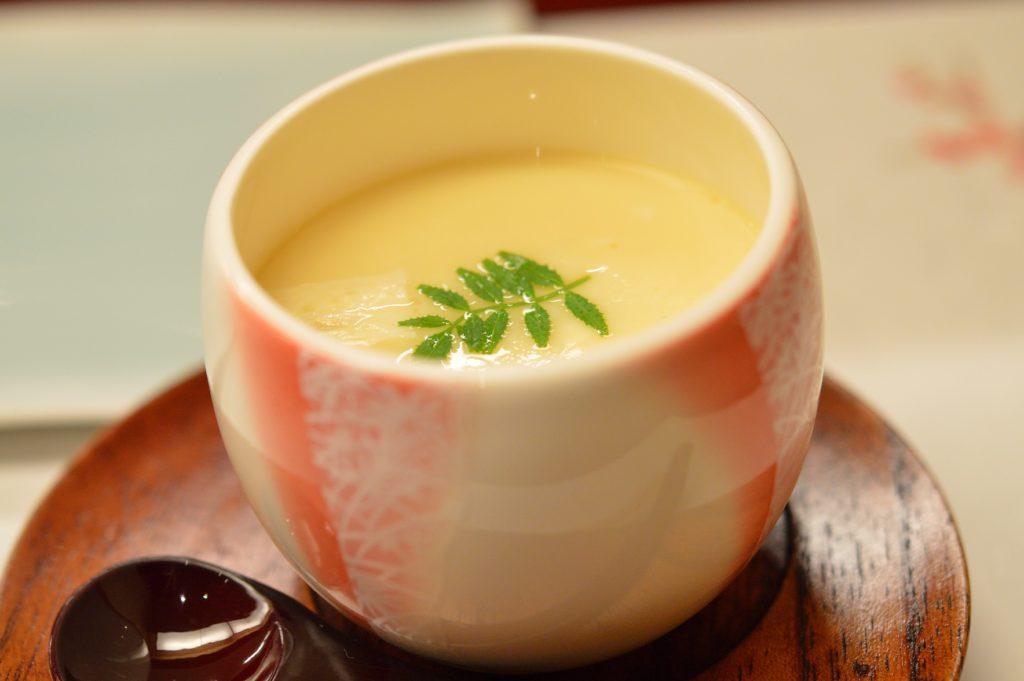 茨城県ひたちなか市 鮨処 花ひろ 茶碗蒸し1