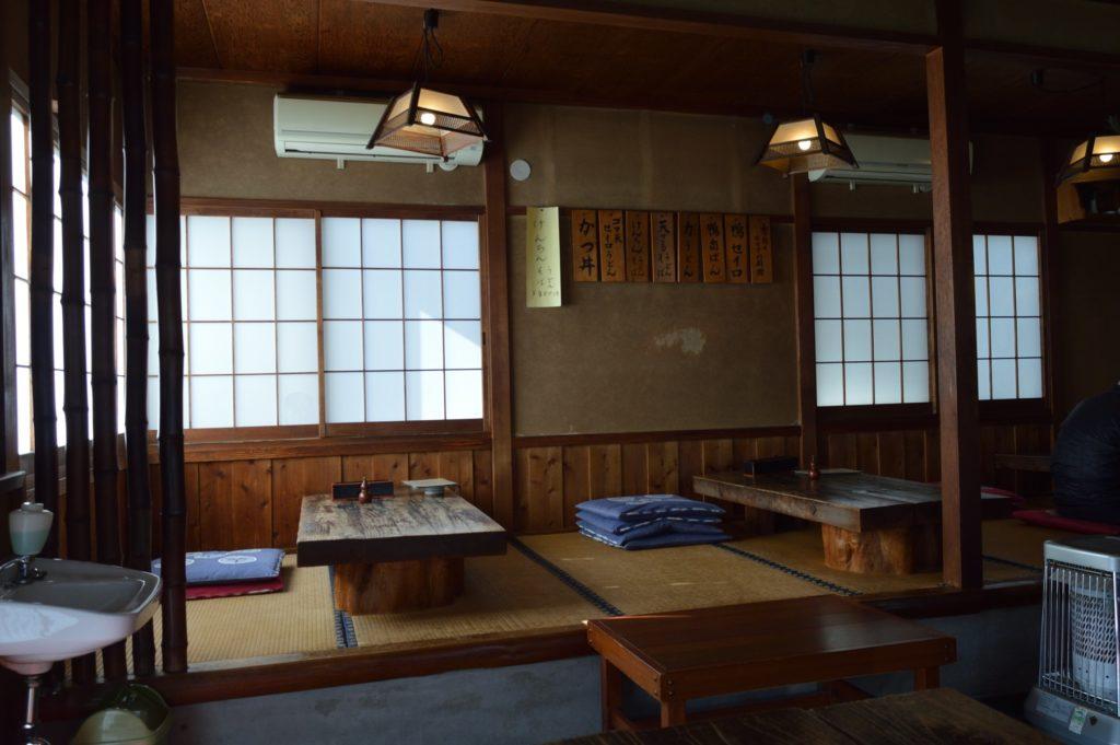 茨城県水戸市 藪そば 店内の様子 (6)