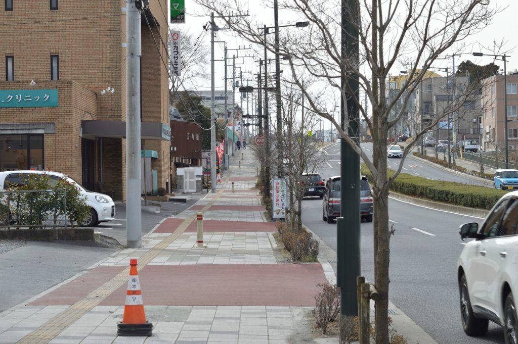 001_茨城県水戸市 トライベッカ 通り