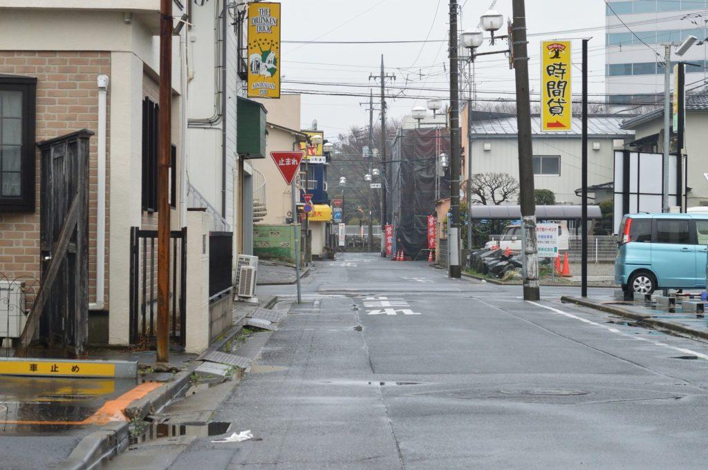 137_茨城県ひたちなか市 勝田そば 雨の日