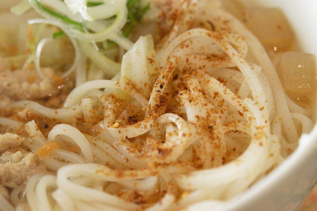 01_茨城県日立市 タイレストランクンシャーン _84 クイティアオセンレック 麺