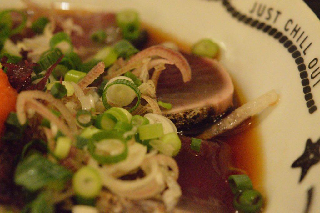 05 018 雑魚屋 カツオのタタキ定食