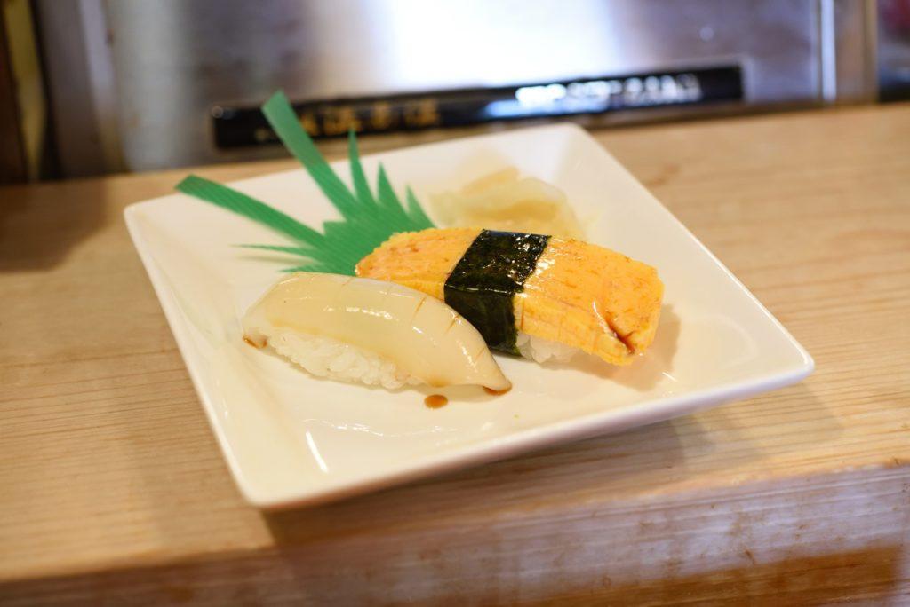 鮨幸 1 イカとタマゴ
