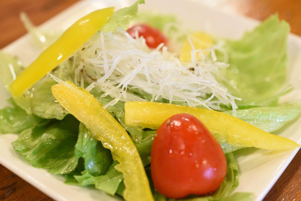 鮨幸 1 サラダ