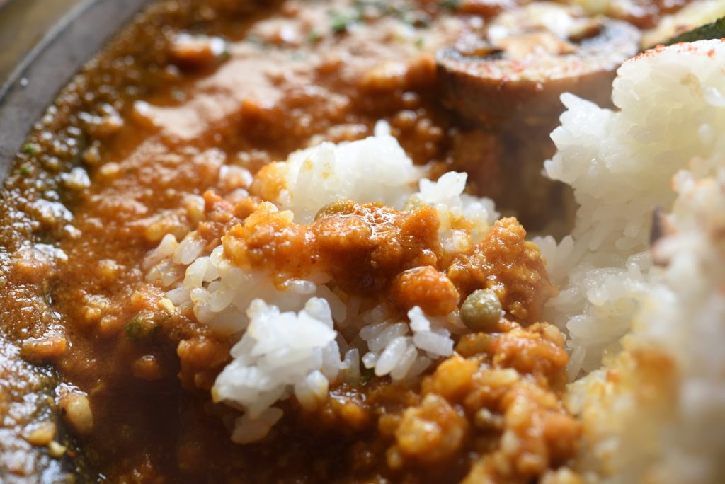 city cafe and space ランチ バターチキンカレー