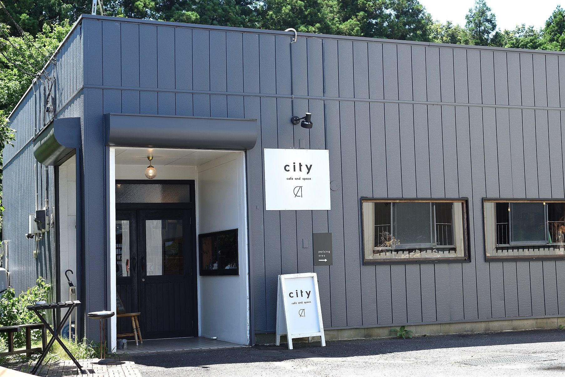city cafe and space 建物