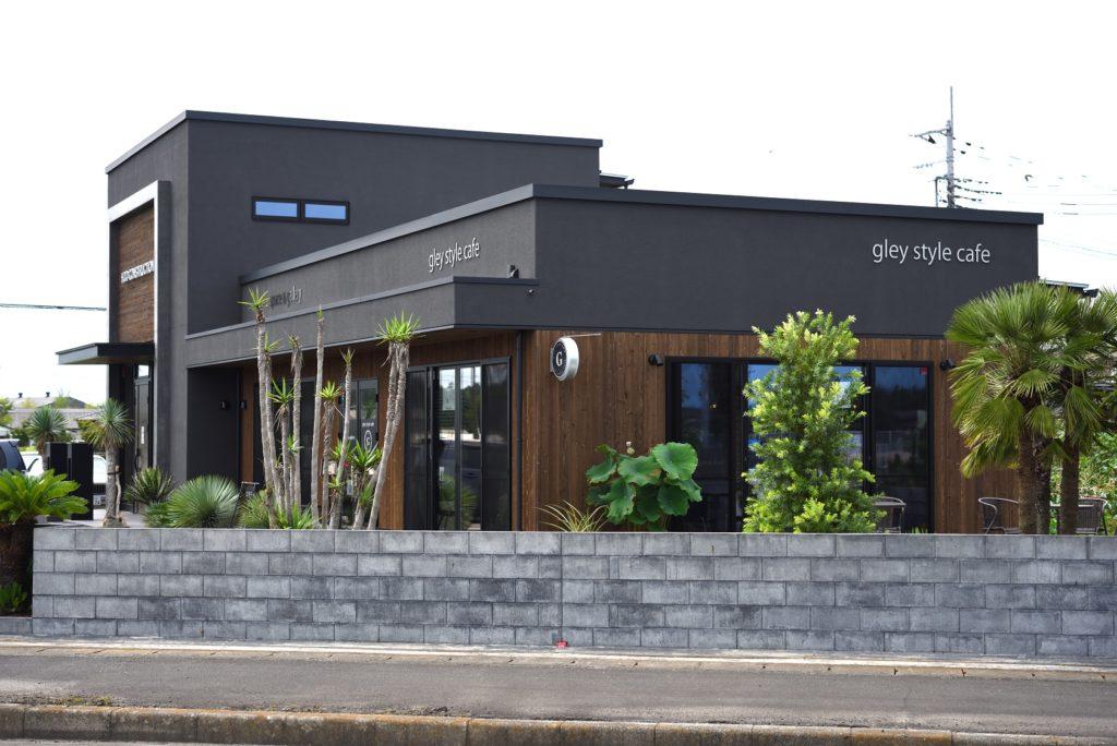 gley style cafe 外観