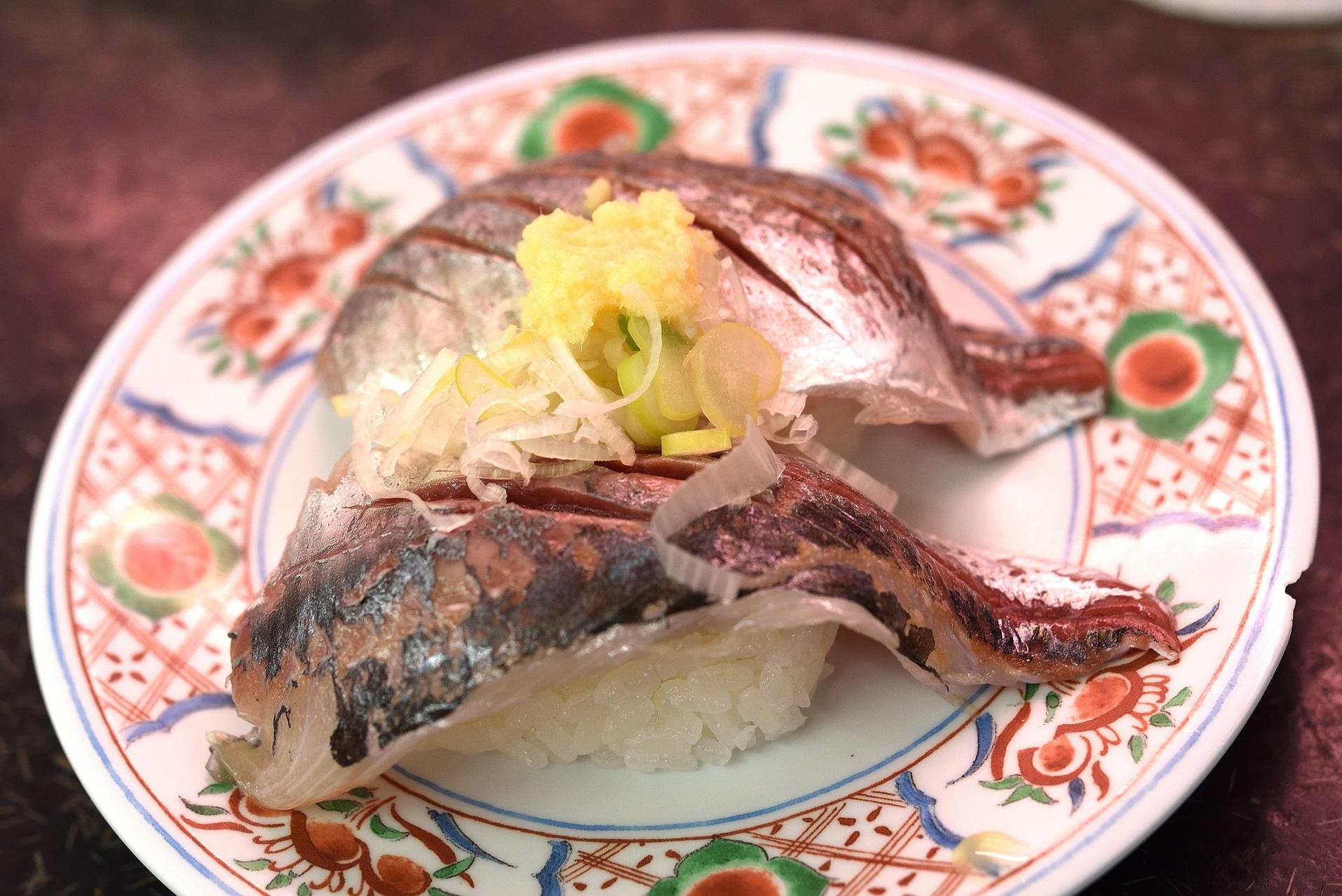 那珂湊 市場寿司 アジ