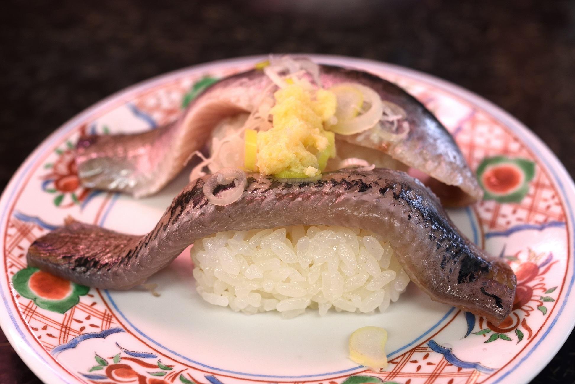 那珂湊 市場寿司 イワシ