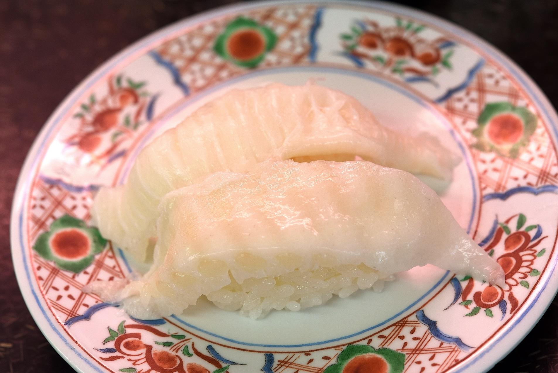 那珂湊 市場寿司 エンガワ