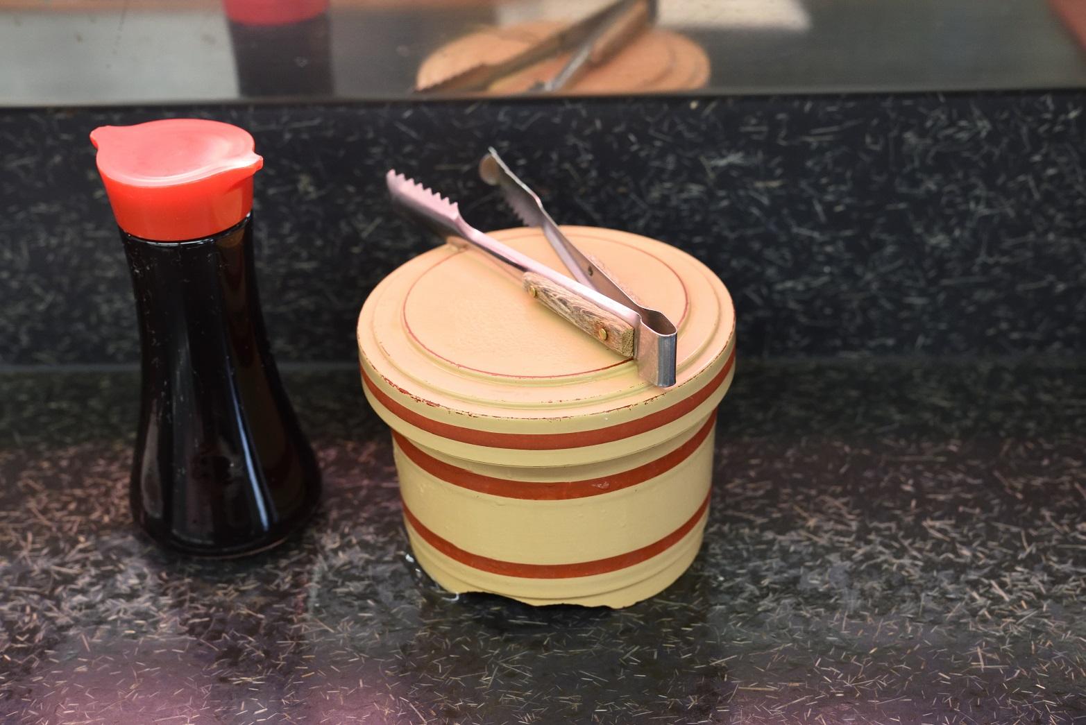 那珂湊 市場寿司 ガリ