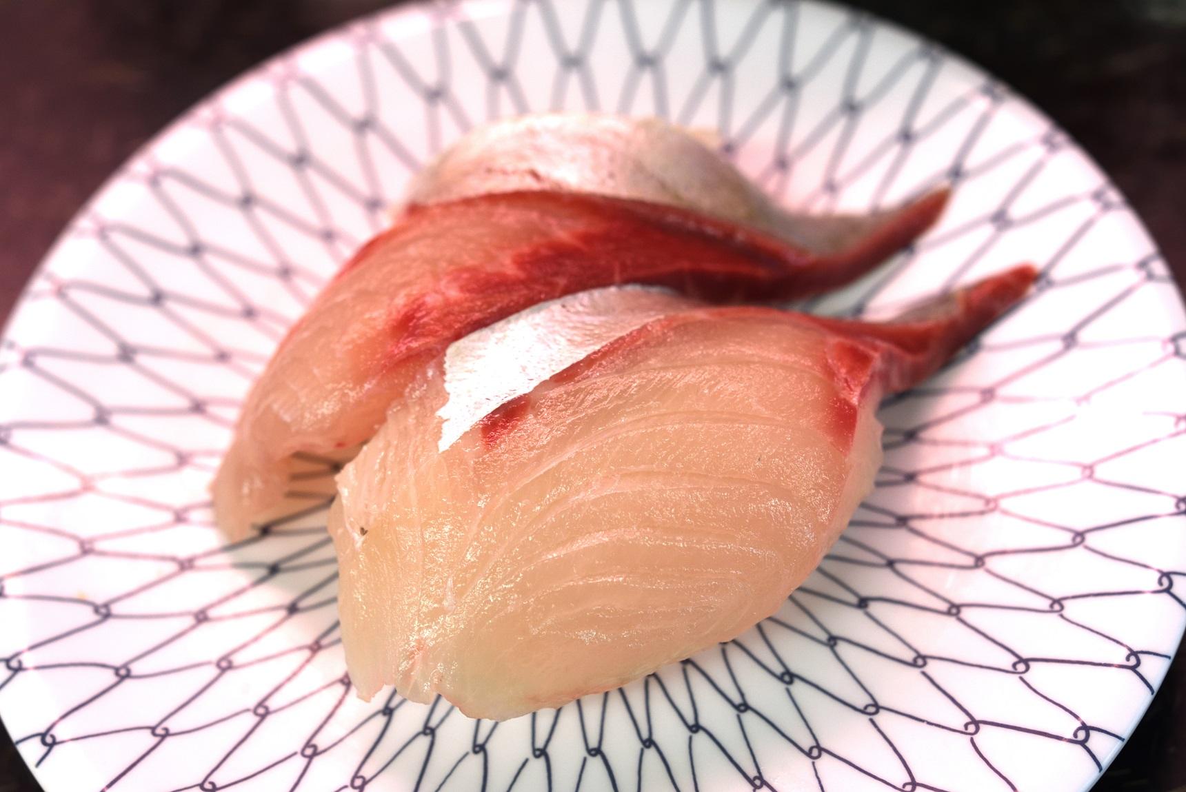 那珂湊 市場寿司 シマアジ