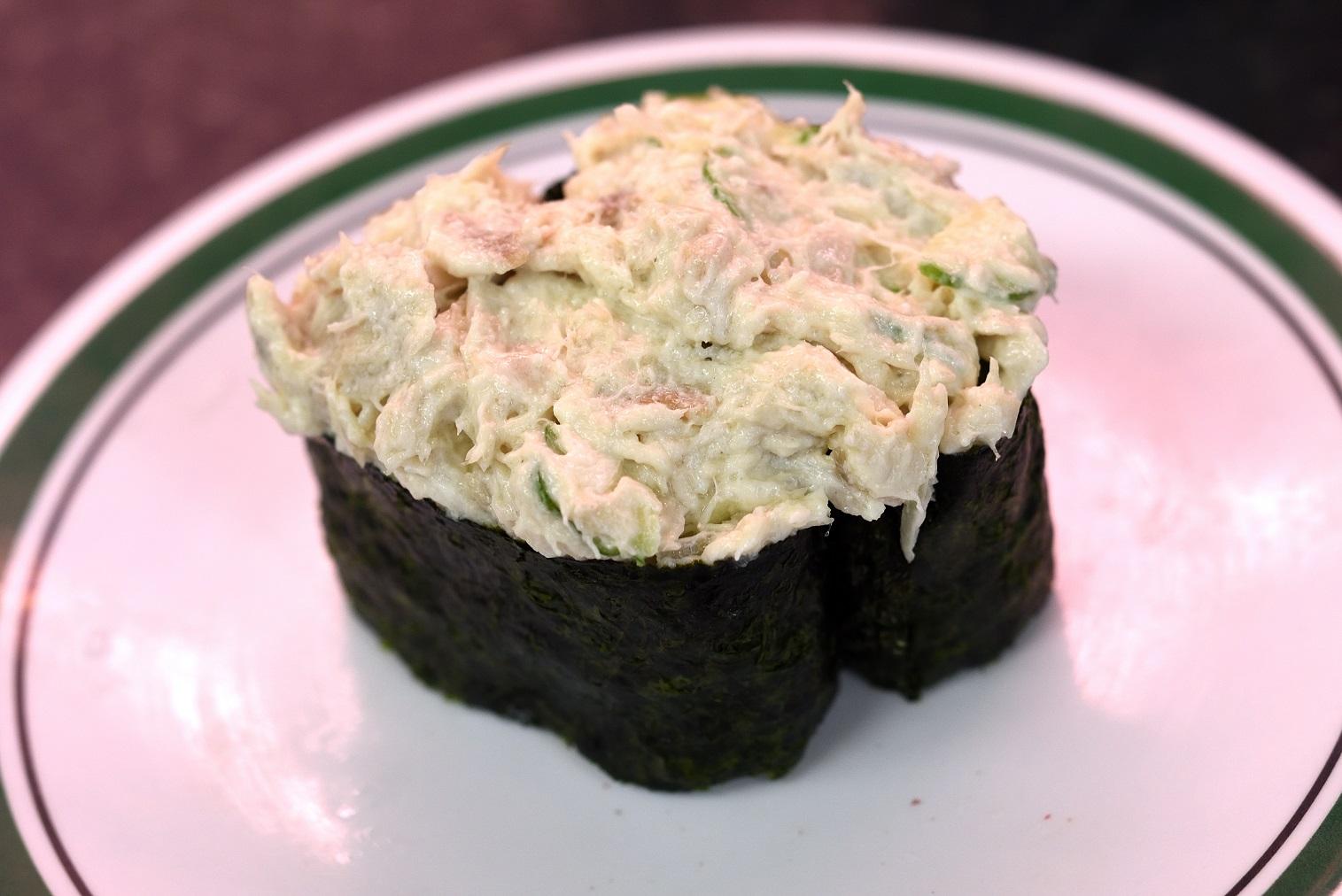 那珂湊 市場寿司 ツナマヨ軍艦