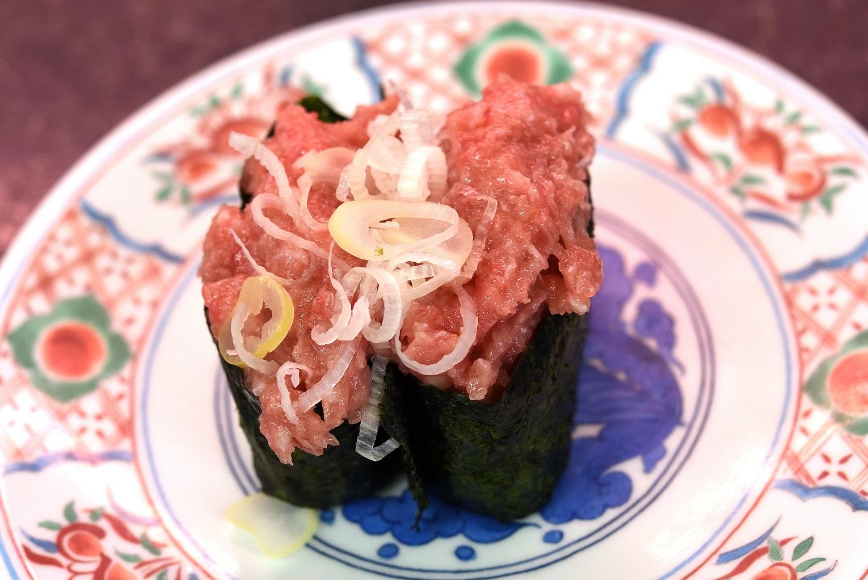 那珂湊 市場寿司 ネギトロ