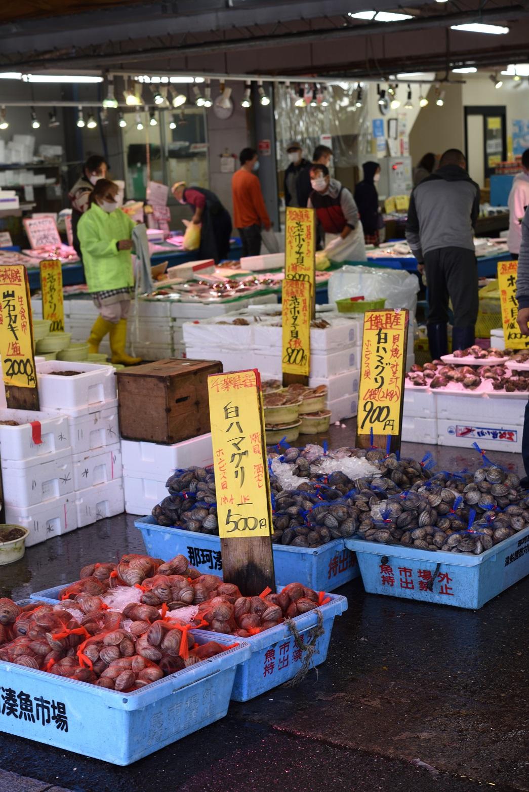 那珂湊 市場寿司 市場