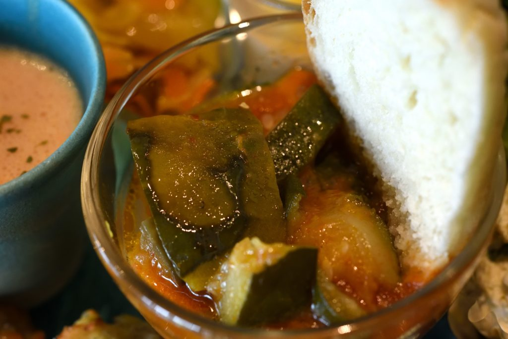 gley style cafe ランチ 夏野菜のラタトゥイユ