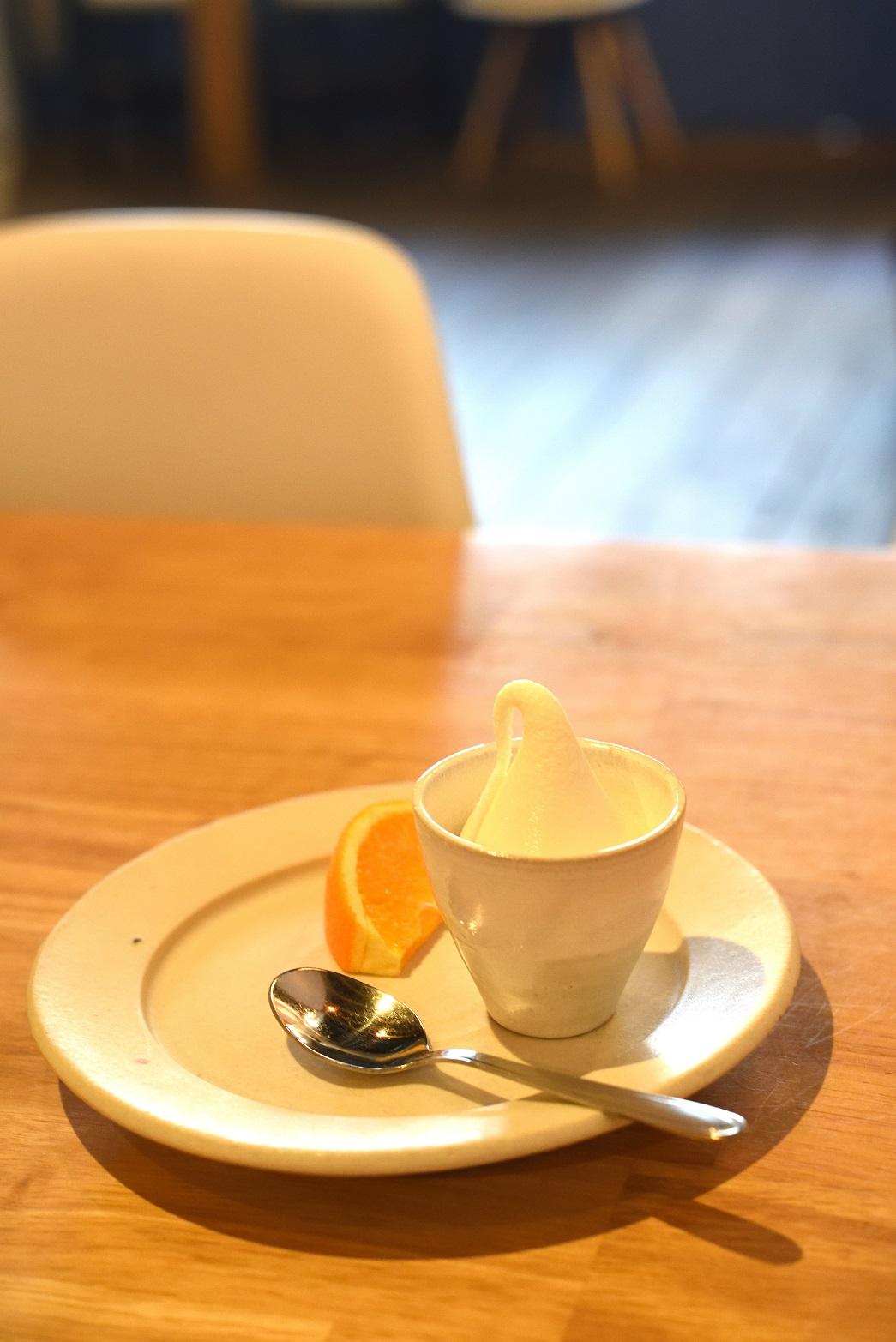 ひげのカフェ デザート
