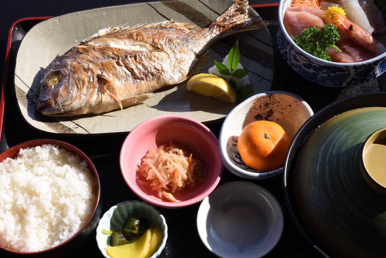 潮騒 焼き魚定食