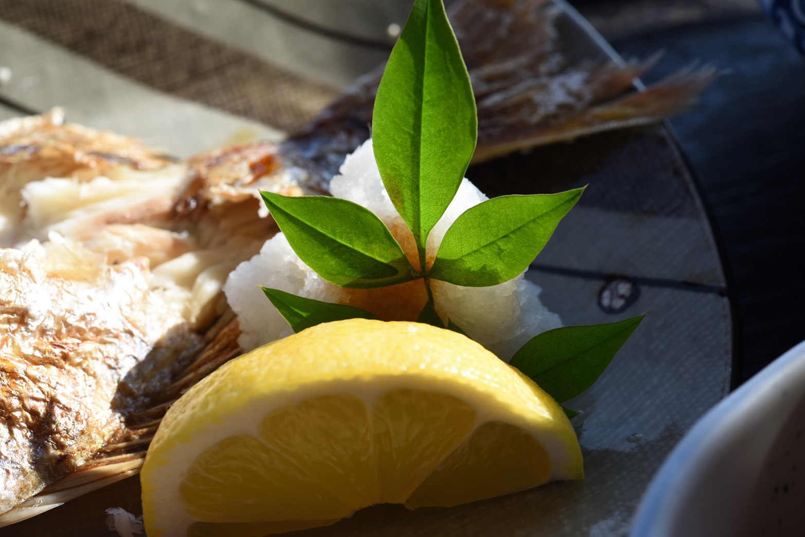 潮騒 真鯛の塩焼き