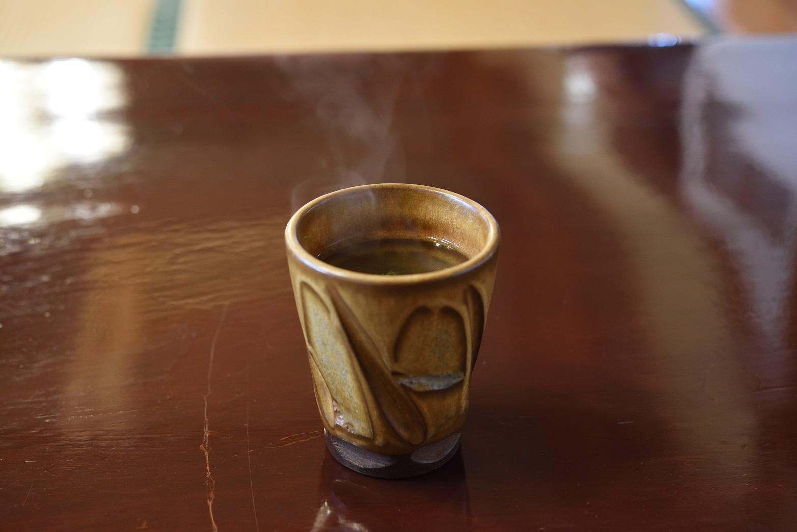 鮨健 お茶