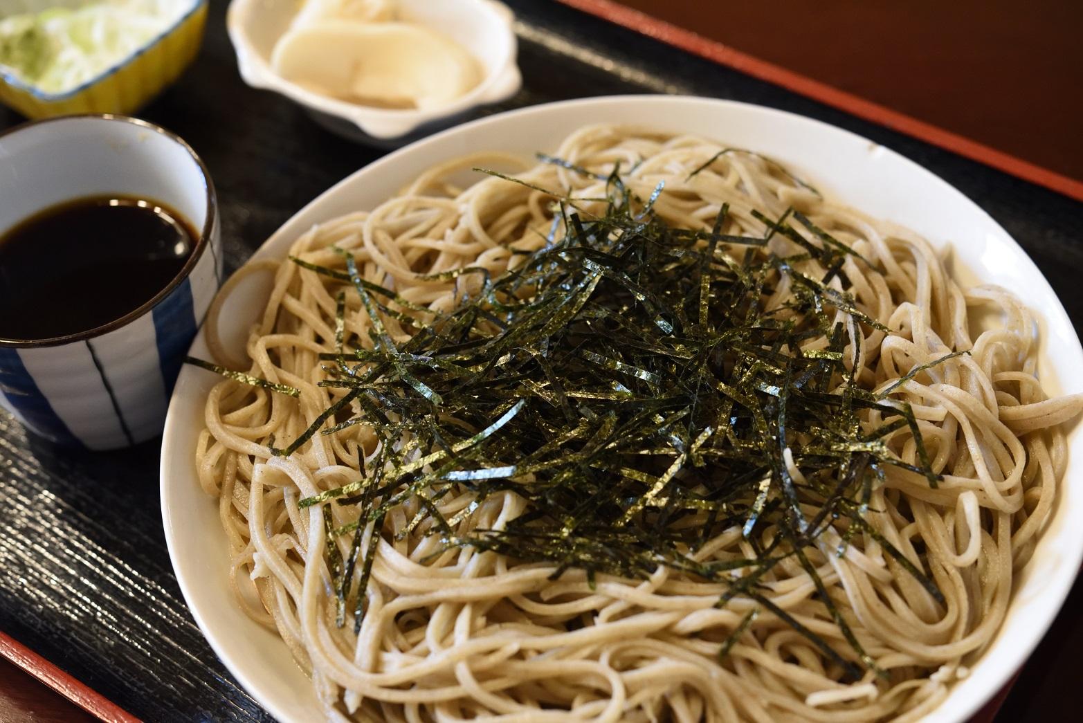 鮨健 ざる蕎麦