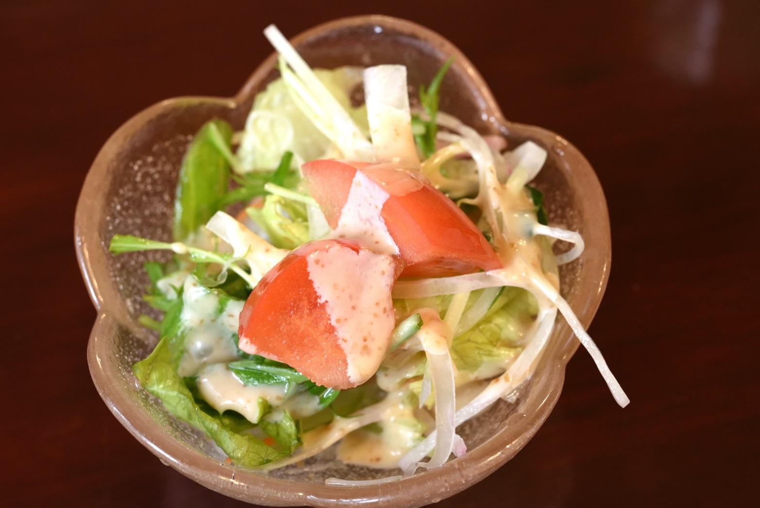 鮨健 サラダ