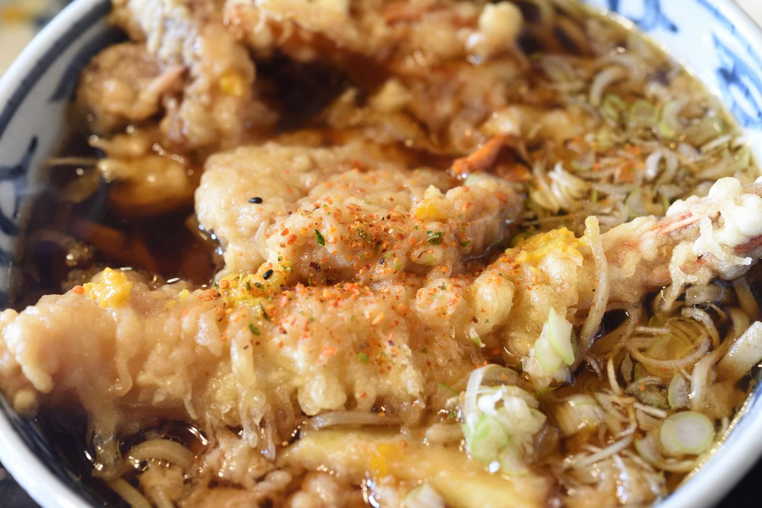 鮨健 天ぷら蕎麦