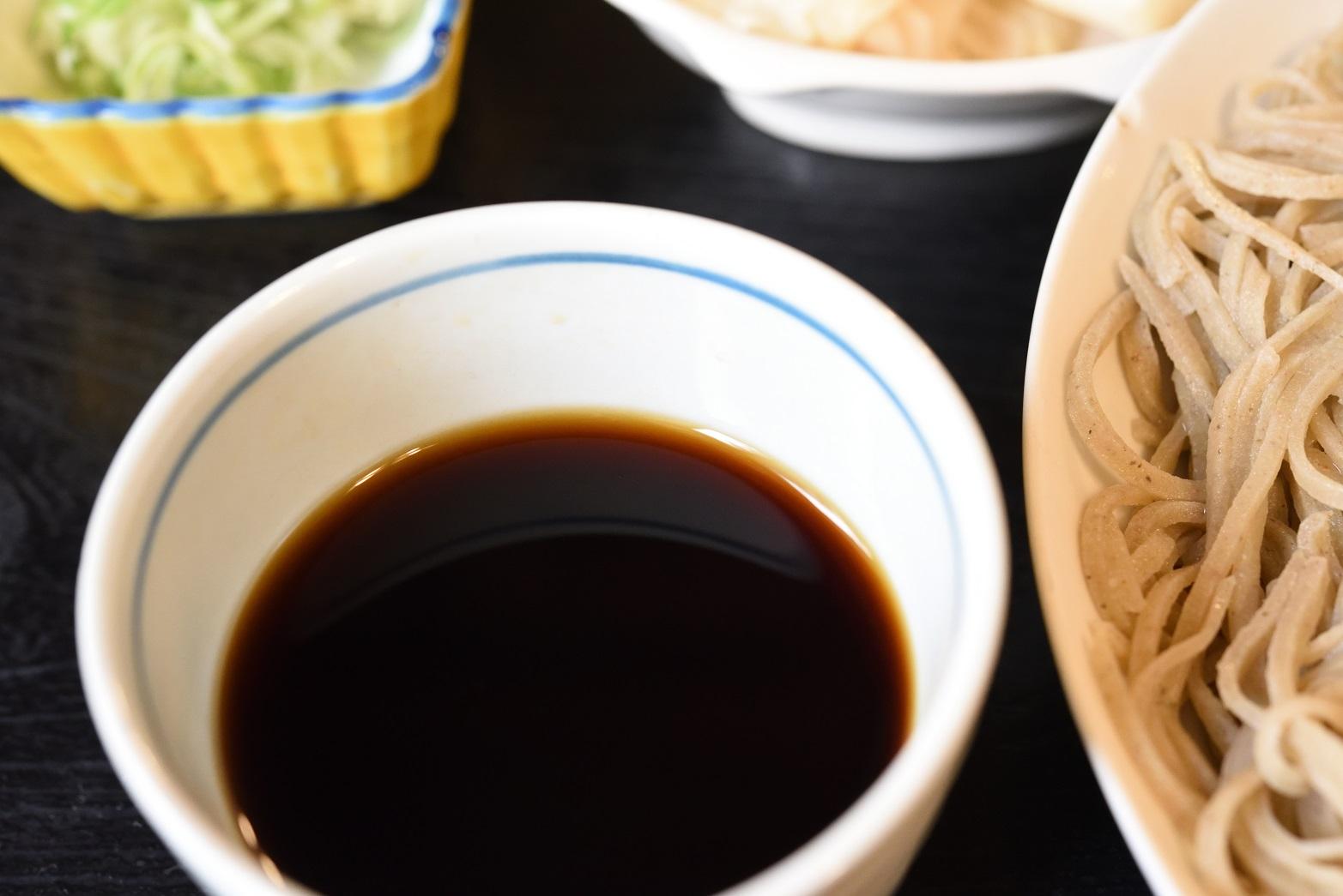 鮨健 蕎麦汁