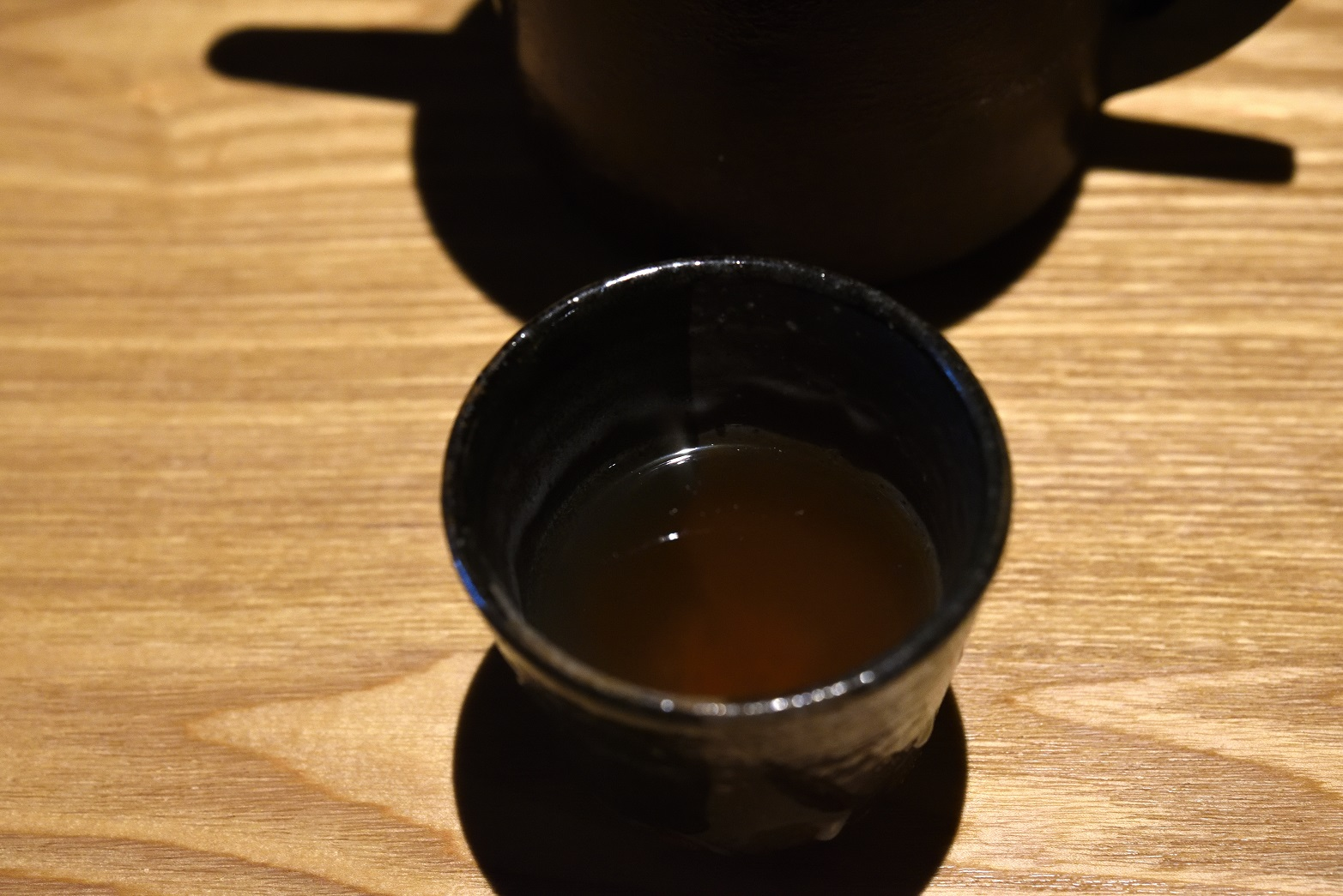 ひろ寿 蕎麦湯