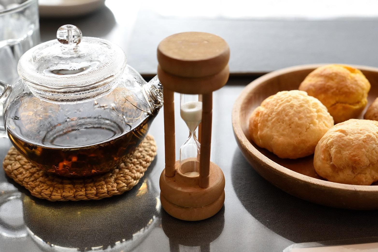 ラ・ターブル・ドゥ・イズミ 砂時計