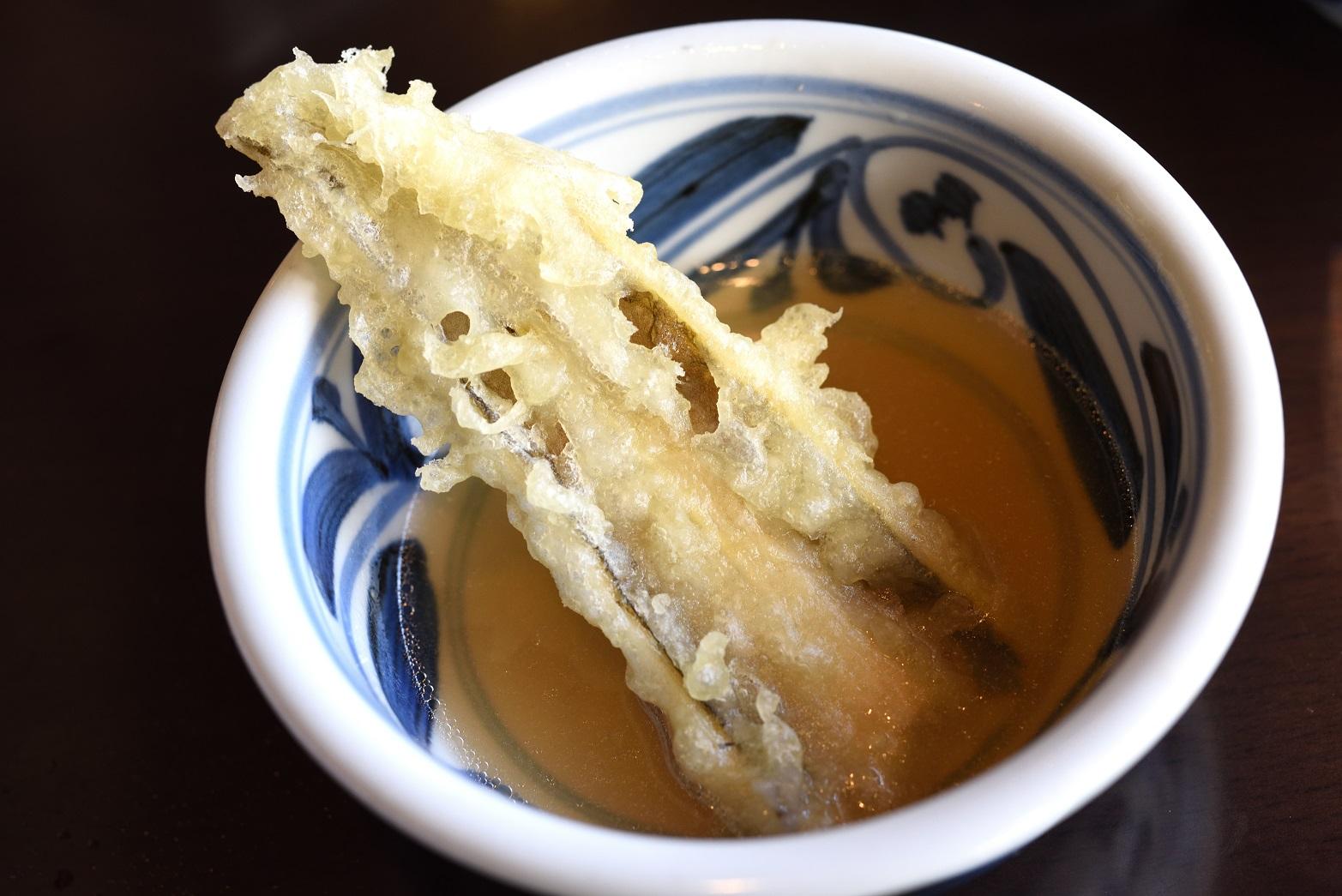 椛や 天ぷら 穴子