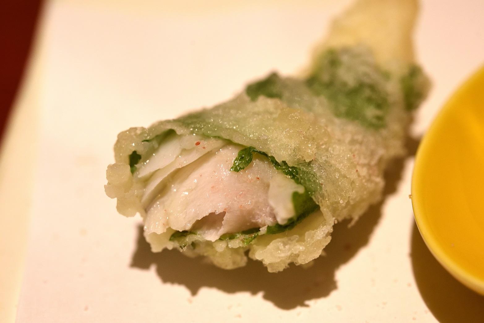 ひろ寿 フグの天ぷら