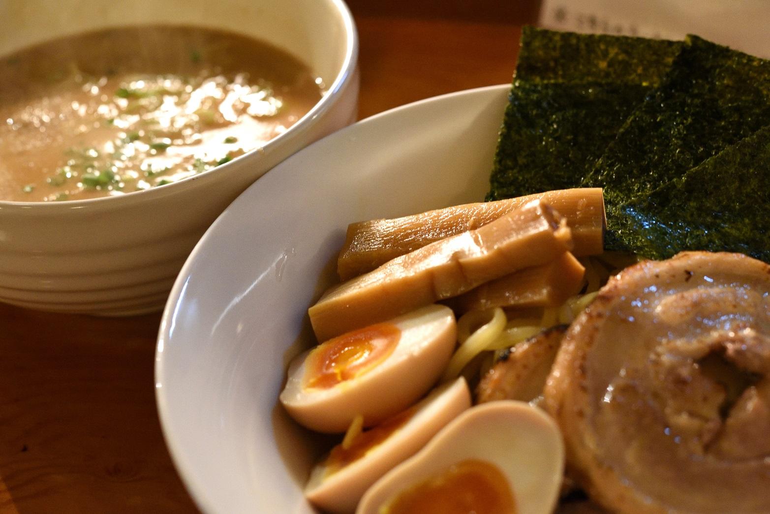 北海道みそらーめん専門店 志のや ゴマ味噌つけ麺