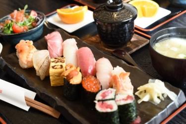 【鮨と旬菜処 須田】赤酢を使ったシャリがほろり。閖上産の赤貝がめちゃ美味し@茨城県日立市