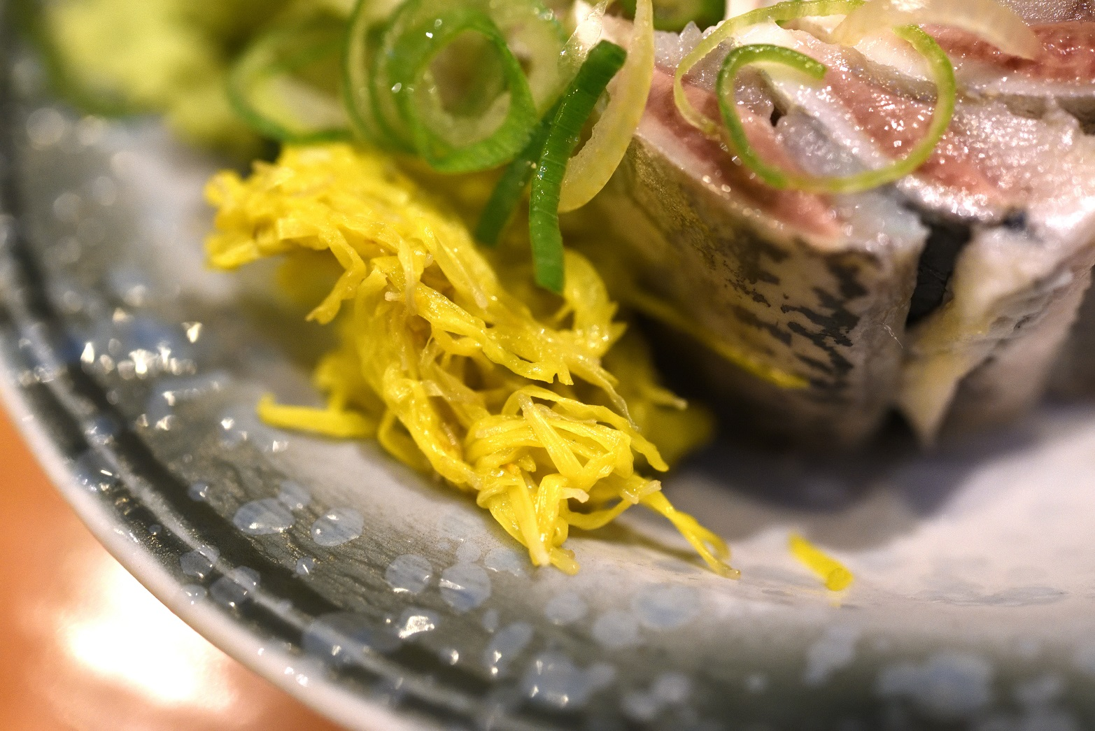 寿司割烹末広 イワシの刺身