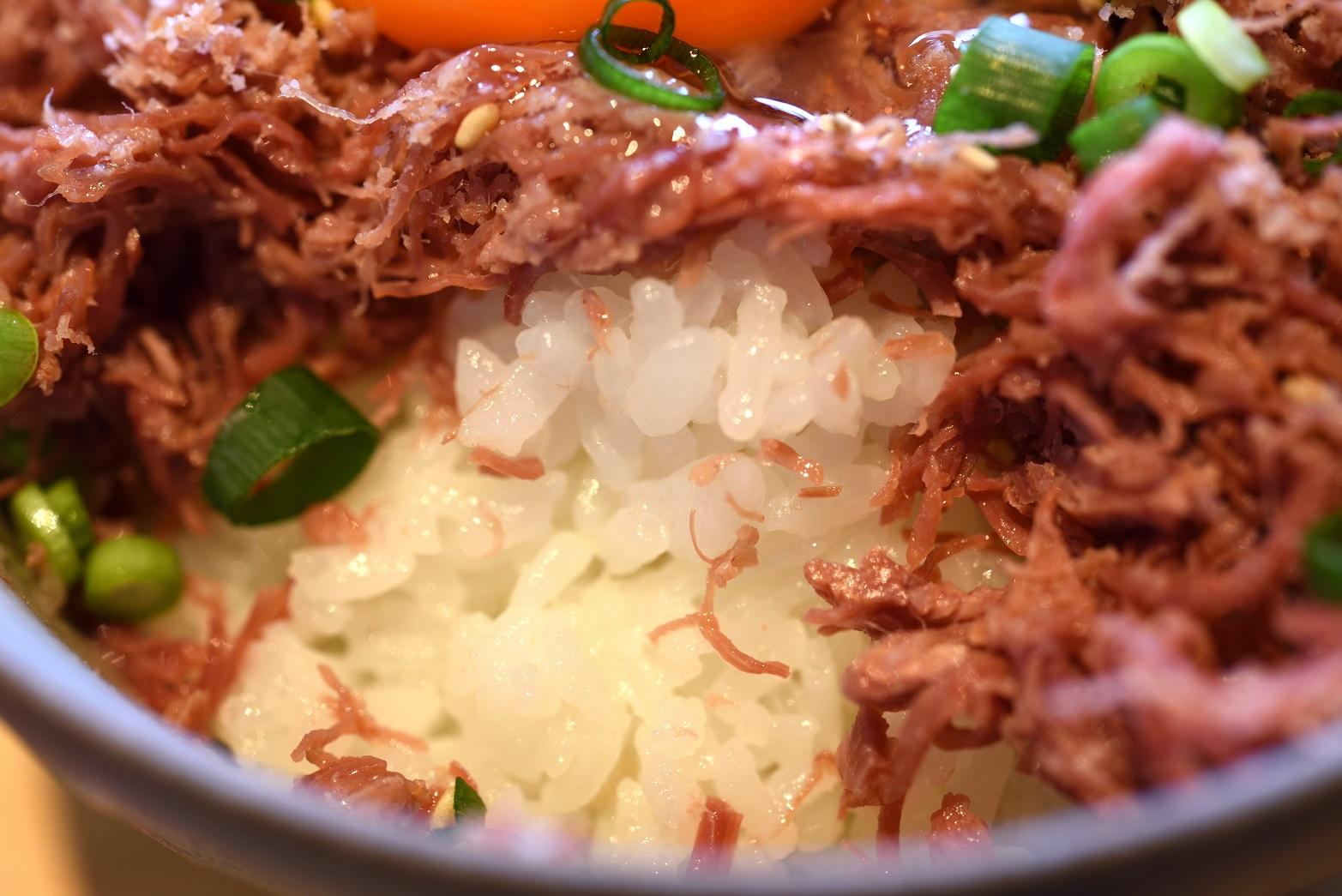 梅カフェwaon コンビーフ丼