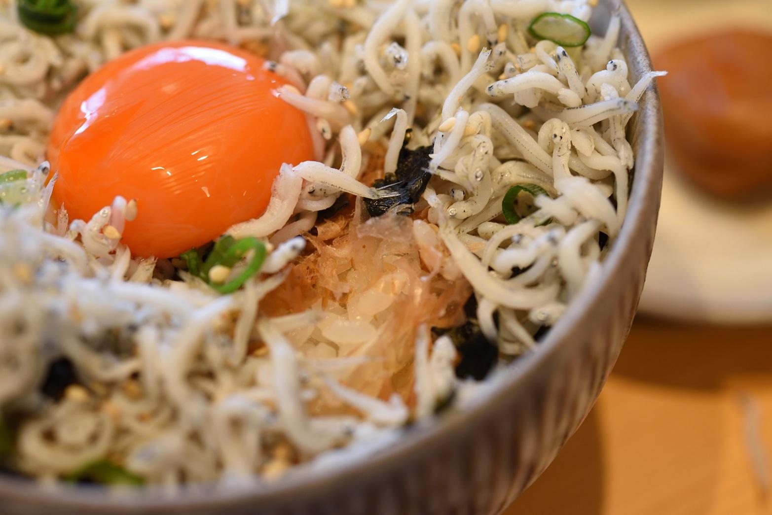 梅カフェwaon シラス丼