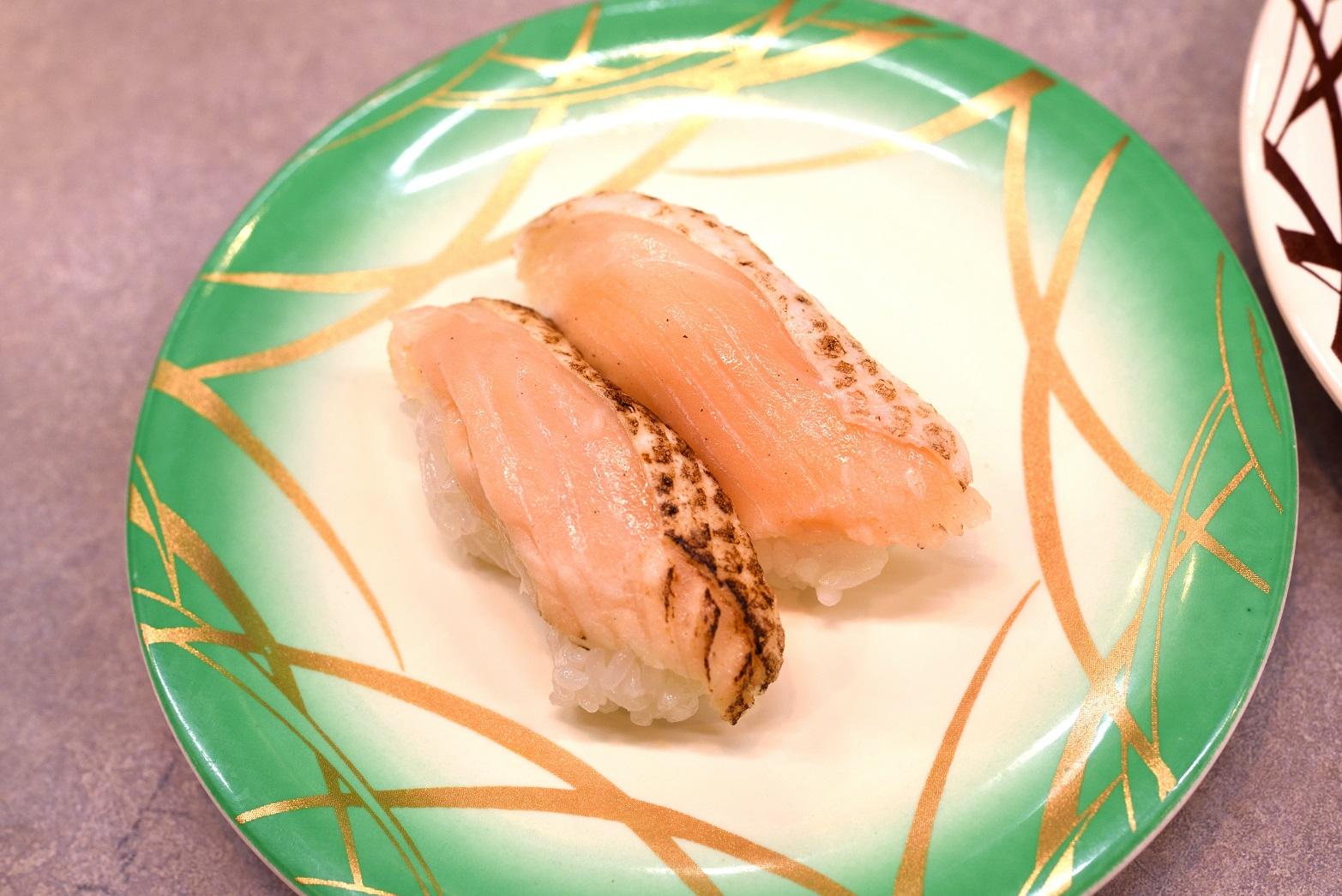 ひたち南ドライブイン一平鮨 炙りサーモン