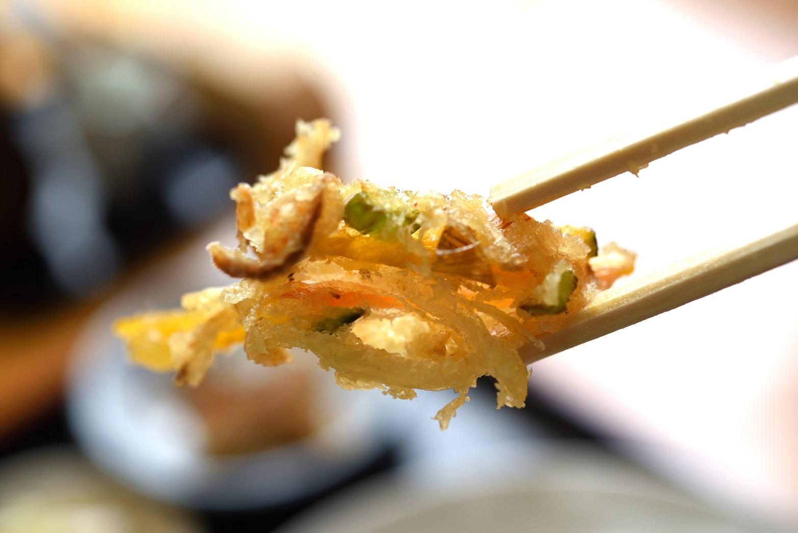 蕎麦処 楓 かき揚げ