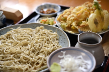 【そば処 楓】常陸秋そばを使った二八蕎麦と十割蕎麦を食べ比べ@茨城県石岡市