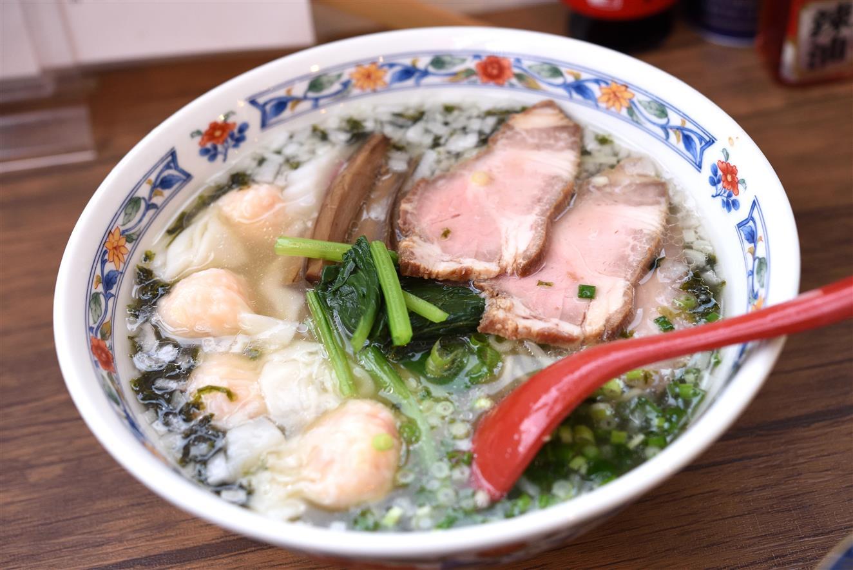 キッチン・ヤン あおさ海苔の塩海老ワンタン麺